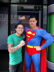 Chinese Clark Kent and Superman! (chanchan222) Tags: ca superman hollywood superhero dccomics clarkkent kalel chinesesuperman danchan danielchan chanchan222 wwwchanofamericacom chanwaibun chineseclarkkent chinesekalel