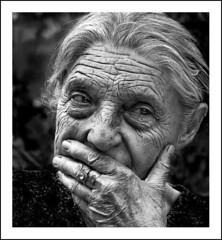 Recollection of the war (Dushan B. Hadnadjev [slowly back]) Tags: life light portrait people woman art love face kids hair eyes hands war time serbia documentary social soul balkans portret srbija  dushan