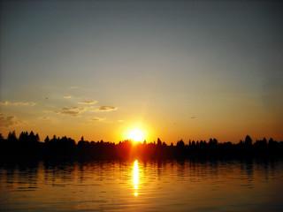 Lake Midnapore Sunset