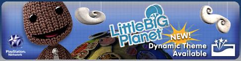 LittleBigPlanet DynamicTheme Banner