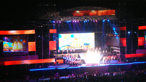 阿里巴巴十周年庆典
