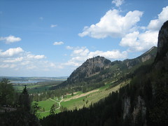 Hoheschwangau - Bavaria (Andrea Duranti) Tags: city travel trees mountain green grass germany munich mnchen bayern deutschland bavaria europa europe memories monaco journey valley memory stadt neuschwanstein ludwig viaggi viaggio germania baviera schwangau potofgold ludwigii monacodibaviera hoheschwangau