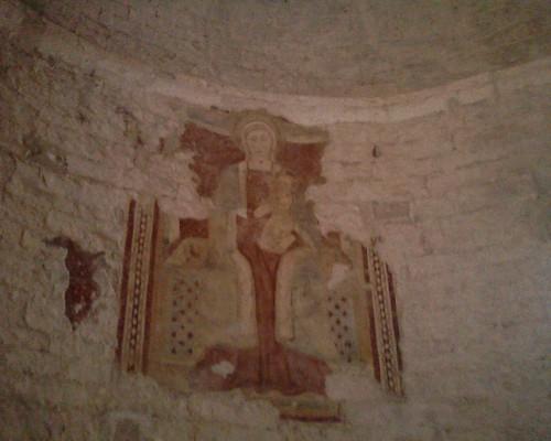 affresco della Madonna