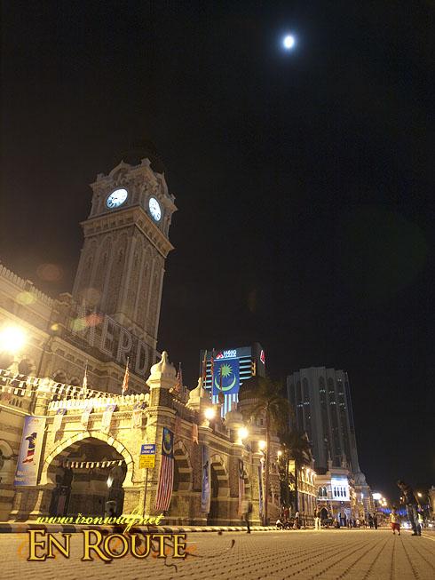 Night at the Merdeka Square
