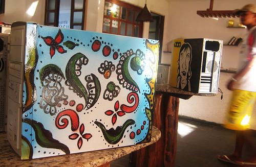 oficina de pintura com o paulo bailux