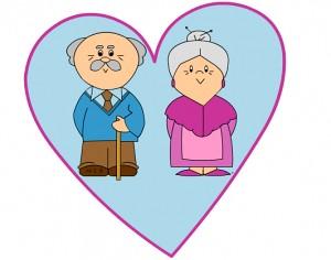 biglietto di auguri per i nonni