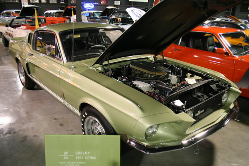 Floyd Garret Muscle Car Museum Shelby Mustang