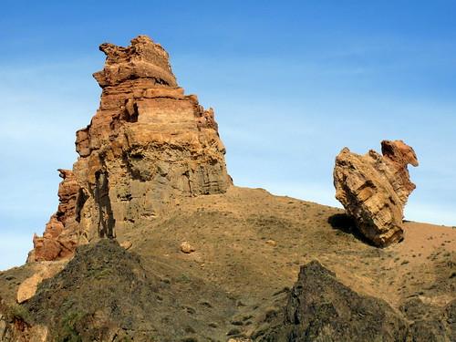 Charyn Canyon - Dali'esque