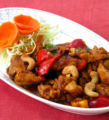 Chicken with Cashews