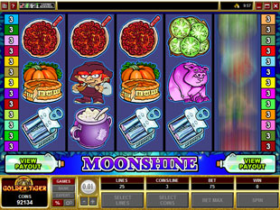 Moonshine slot game online review
