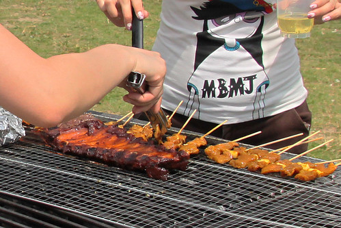 Pork Ribs and Satays