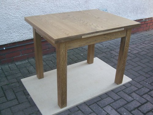Drawer-Leaf Dining Table