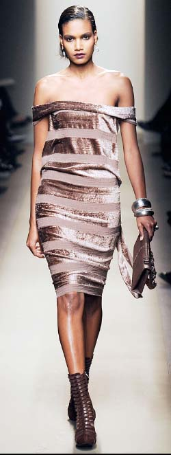 Bottega Veneta burnout velvet Fall 2009 copy
