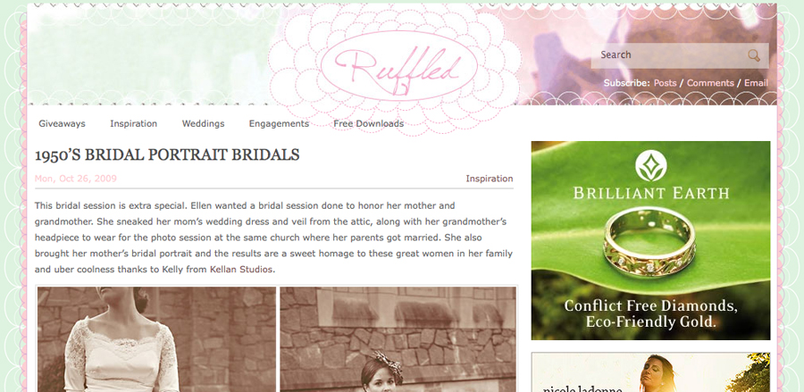 Featured on Ruffled Blog!