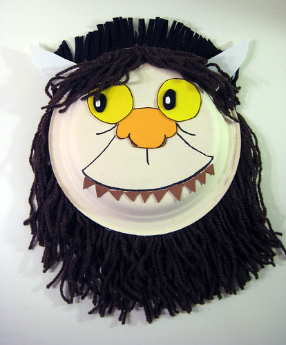5 - Where the Wild Things Are Mask: Outlining Features