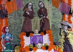 """Altar de Muertos 2009 Casa de la Cultura Puebla- day of the dead"""" (Luis Enrique Gómez Sánchez) Tags: méxico dayofthedead diademuertos diadelosmuertos mexique puebla calavera messico altardemuertos ofrendademuertos dayofthedeadmexico メキシコ hpphotosmartr817 мексика mexicodayofthedead μεξικό diademuertosmexico ofrendadíademuertos luisenriquegómezsánchez μεξικ"""