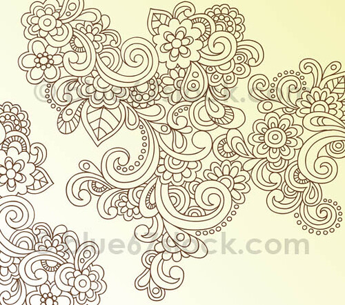 paisley tattoos. Paisley Henna Tattoo
