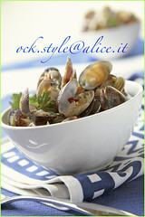 Mediterranean Clams Sauted
