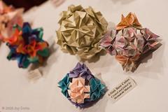 PCOC 2009 exhibition (priti hansia) Tags: origami paperfolding origamiusa pcoc2009