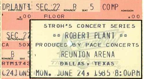 Flickriver: Photoset '1985 Ticket Stubs' by Joe Merchant