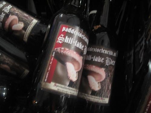 Mushroom beer