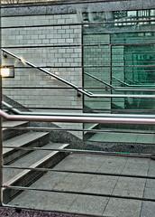 * (artie*) Tags: berlin canon reflections germany u2 mirror spiegel ubahn mitte spiegelung gewebe hausvogteiplatz sigma18125mm guessedberlin lightzone eos400d gwbcougar150921