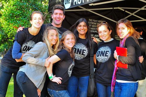 Volunteers at U2 360 Tour in Washington D.C.
