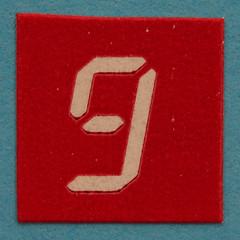 number 9 (Leo Reynolds) Tags: canon eos iso100 nine 9 number 60mm f80 group9 onedigit number9 groupnine 0125sec 40d hpexif numberset grouponedigit xsquarex xleol30x