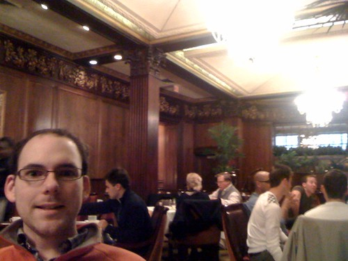 Breakfast at the Omni Parker House Hotel then on to New Moon!