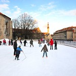 Tallinn: Ice Rink in Old Town