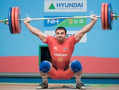 Martirosyan ARM (Rob Macklem) Tags: china men olympic 2009 lu 85kg olympicweightliftingkoreaworldchampionshipsgoyangcity