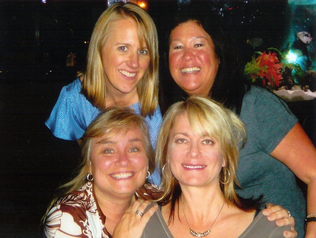 Liz, Sharon, Laura and Mary
