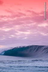 Teahupoo (Sean Davey Photography) Tags: pictures red sky seascape color green nature vertical glitter photography big shiny energy surf glow power wave alternativeenergy curl tahiti swell shimmer whitewash greenenergy frenchpolynesia greenpower oceanwave teahupoo seawave alternativepower oceanswell seandavey oceanpower seaswell photographyfineart finephotographyart curlingwave wavesenergy seawaveenergy oceanenergy oceanwavepictures seandaveyphotography seandaveyfineart