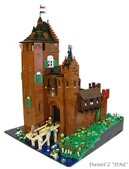 "Slot Weijenaard (Daniel Z ""DNL"") Tags: brick castle dutch lego contest clay slot colossal kasteel fired baksteen burcht classiccastle"