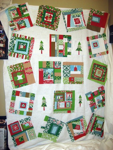 Christmas Quilt Layout - Take 2