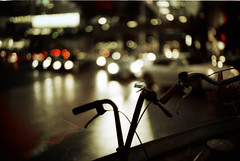 (yugoroyd) Tags: leica bicycle japan 35mm tokyo shoot fuji  m5 nokton f12 natura1600