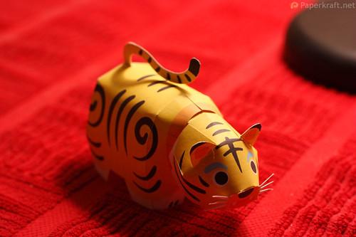 Tiger Papercraft 01