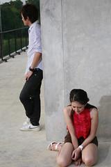 06 Christy คริสตี้ กิ้บสัน MV filming--เจ็บที่ไม่ได้เชิญ (Jep Tee Mai Dai Chuen)