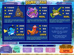 free Dolphin Tale slot mini symbol
