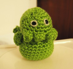 Cthulu doll for Baby Fly