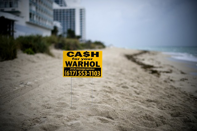 Cash For Your Warhol (Miami Beach)