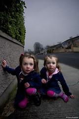 (Gina Marie Brocker) Tags: ireland portrait irish girl youth sisters children kid twins child traveller ennis irishtravellers ginabrocker