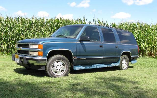 chevrolet suburban 1994 k1500