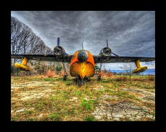 The Grumman HU-16 Albatross (Uros P.hotography) Tags: road park trip travel sky italy cloud tourism beautiful clouds airplane airport amazing nice nikon perfect italia tour view superb path unique military awesome sigma grand tourist journey stunning excellent lovely incredible 1020 hdr breathtaking albatross gorizia grumman the d300 photomatix hu16 slod300