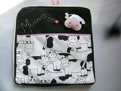 capa netbook vaquinha (P de Pera) Tags: case vacas tecido algodo vaquinhas capadenotebook pdepera capadenetbook