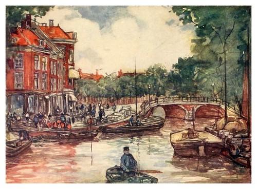 022- El puente de los peces en Leiden-Holland (1904)- Nico Jungman