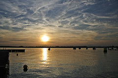 Summerfeelings (Truus) Tags: water zonsondergang lucht vacantie truus bootjes