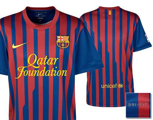 Nueva camiseta del barça 2011-2012