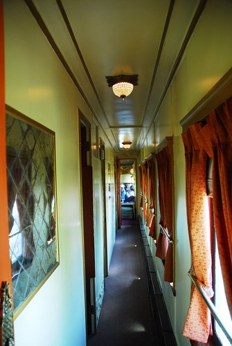 Private Rail Car Virginia City - corridor