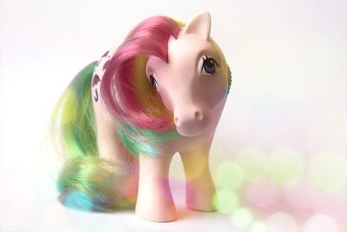 vintage rainbow pony by ♥ Wee Rainbow Girl ♥ Nay Paul ♥